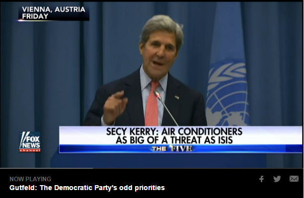 john kerry video on fox news air conditioners as big a threat as isis