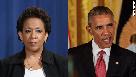 loretta lynch and barack obama