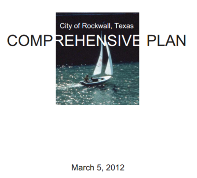 john king in the rockwall comprehensive plan 2011