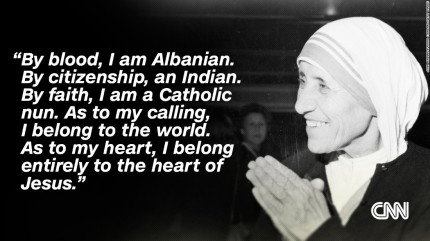 mother teresa cnn quote