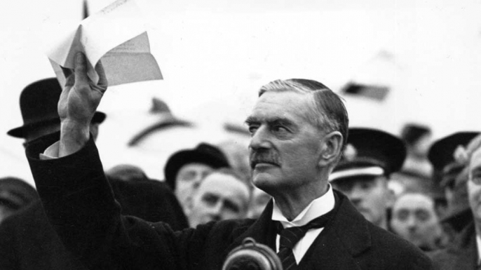 neville-Chamberlain-Peace-in-our-Time-1938