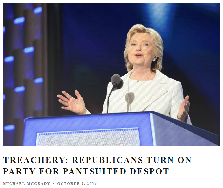 treachery republicans turn on party for pantsuited despot.PNG