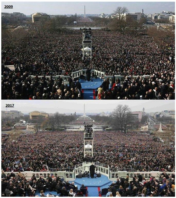 inaugural-day-photos-compare-obama-in-2009-and-trump-in-2017