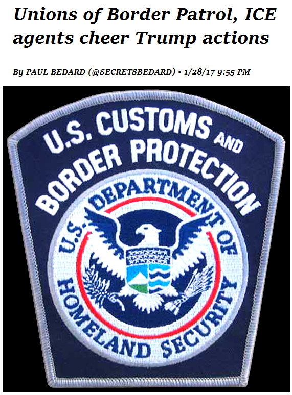 Unions of Border Patrol ICE agents cheer Trump actions.png
