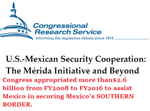 merida-initiative-to-assist-mexico-in-securing-the-southern-border-of-mexico