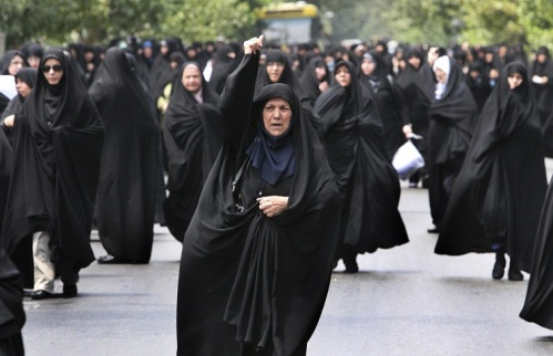 iranian women in islamic dress