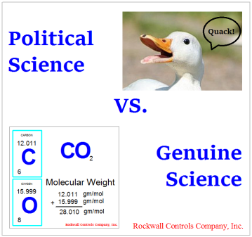 poltical science vs genuine science