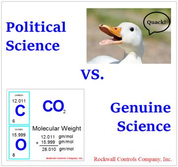 poltical science vs genuine science
