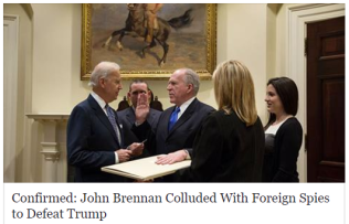 john brennan colluded with russians