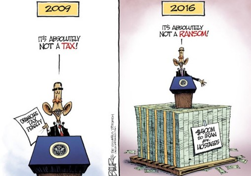 obama lies - 2009 and 2016
