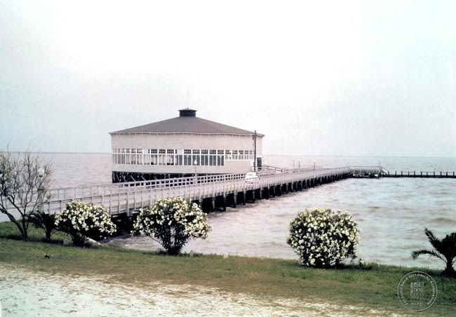 Palacios Pavilion Before Hurricane Carla