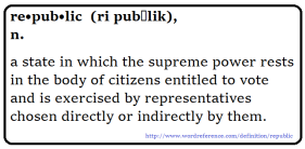 definition of a republic
