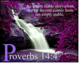 proverbs 14-4