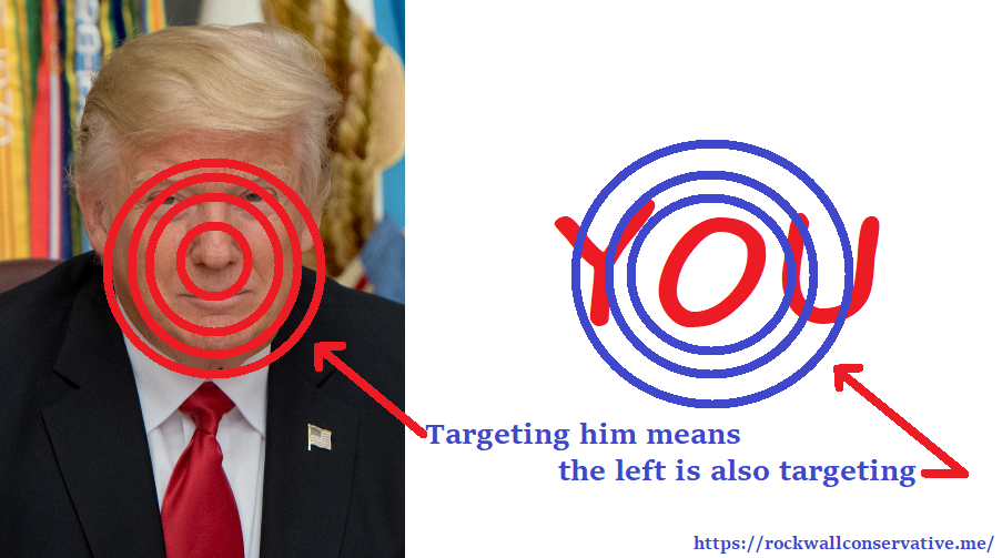 targeting trump and you