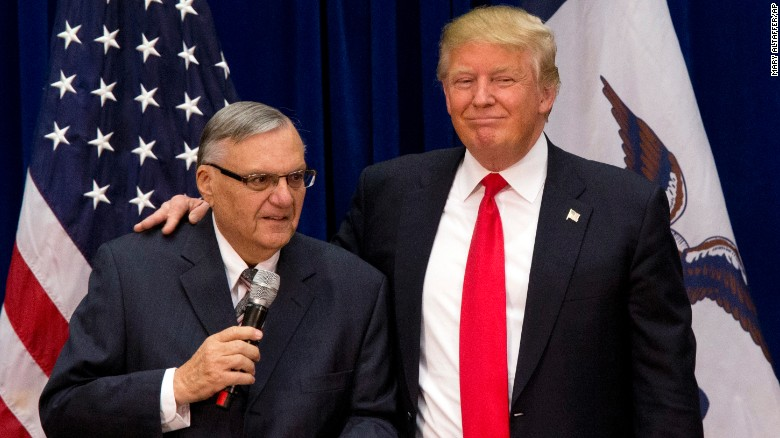 arpaio and trump - pardoned