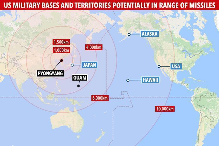 A Case For Emergency Preparedness Nuclear War Rockwall Conservative - Nuclear-war-us-map