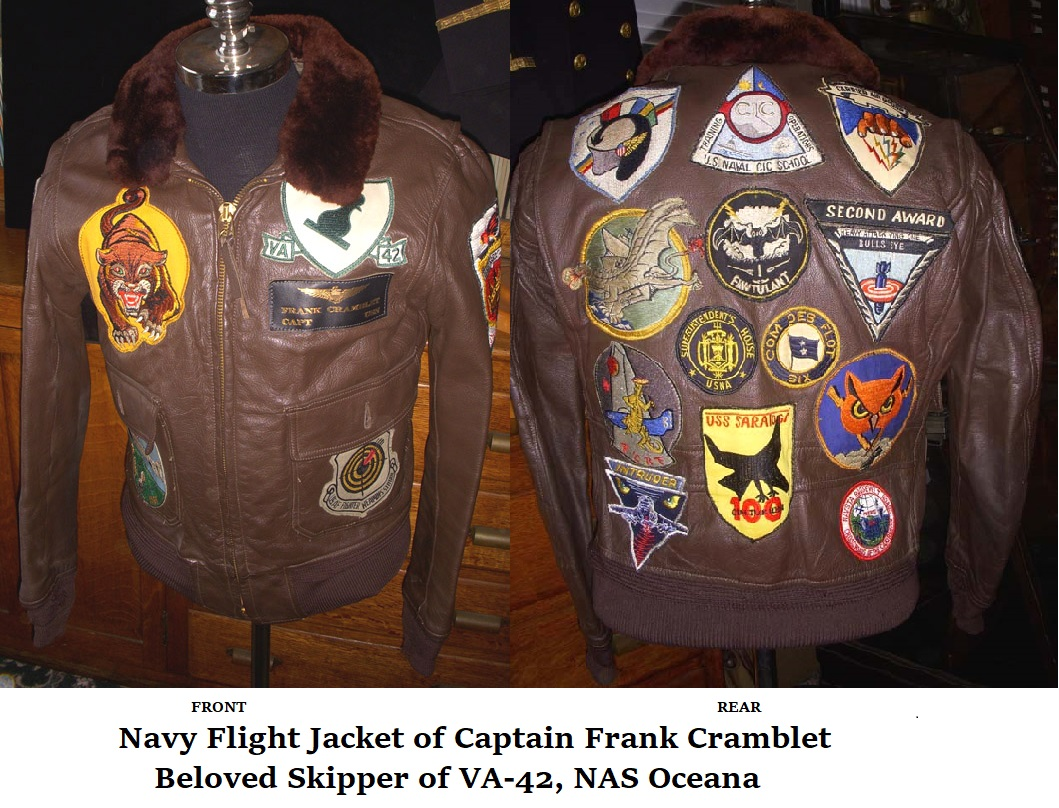 Frank Cramblet Flight Jacket