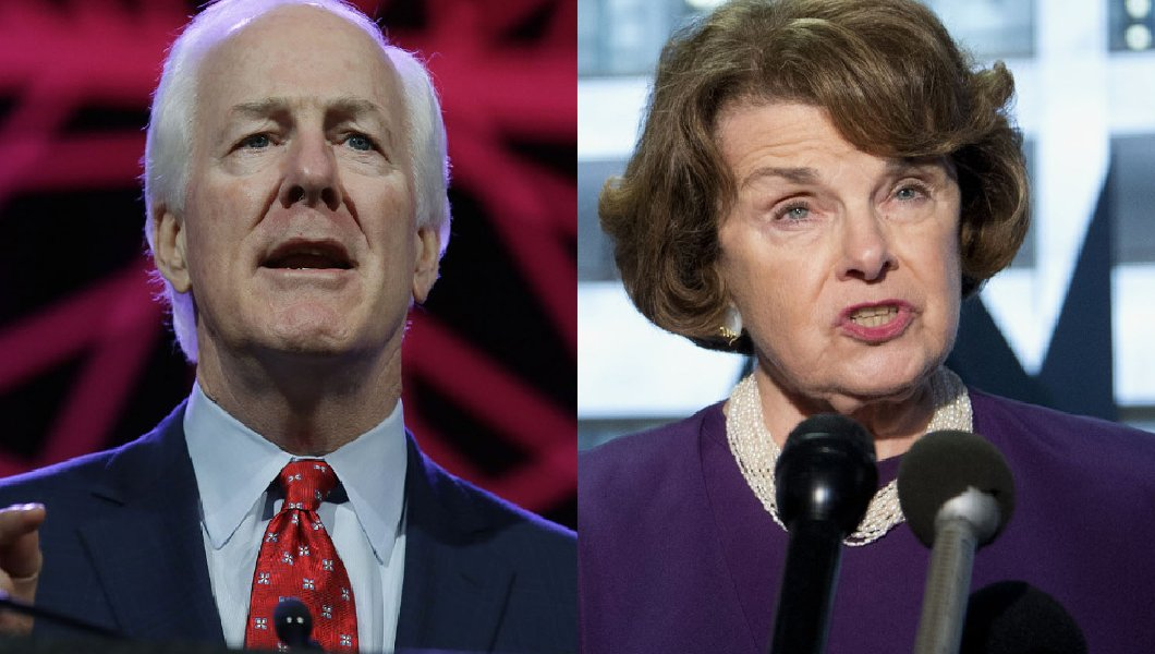 john cornyn unites with dianne feinstein to disarm americans