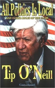 tip o'neill - all politics is local book cover