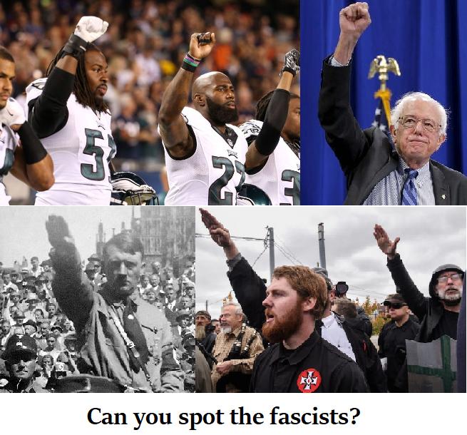 nazi salute composite