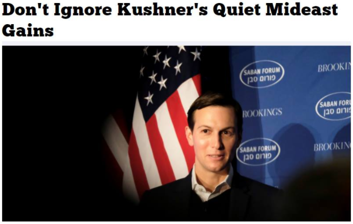 dont ignore kushners quiet mideat gains