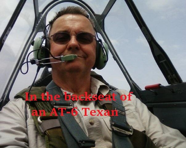 flight of the AT-6 Texan