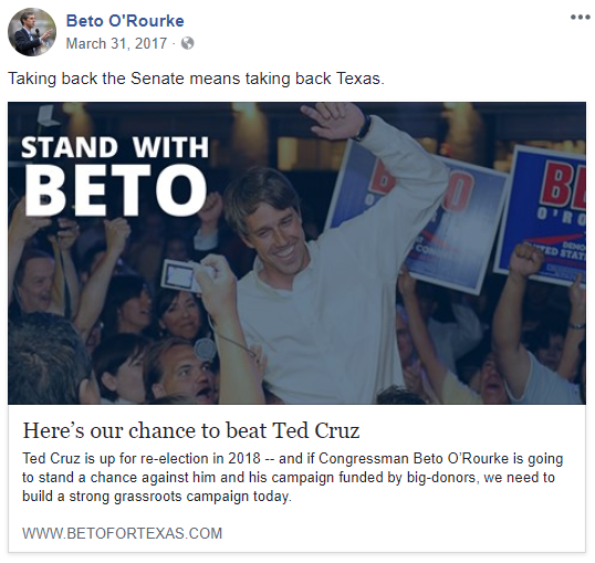 beto o-rourke taking back texas
