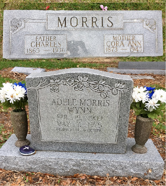 Grandmother Cora Morris and Mother Adele Morris Wynn