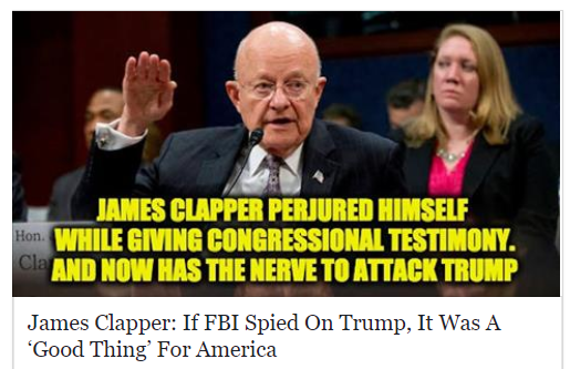 james clapper lied about spying on citizens