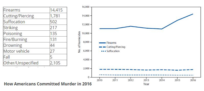 2016 murder statistics