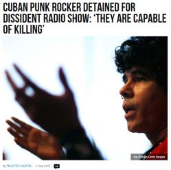 cuban punk rocker detained