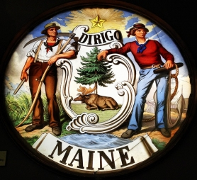 seal of the great state of Maine