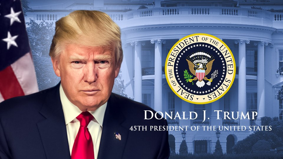 Donald J Trump - 45th President of the United States