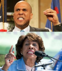 maxine waters and cory booker hate republicans