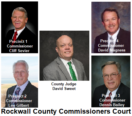 Rockwall County Commissioners Court 2018 v2