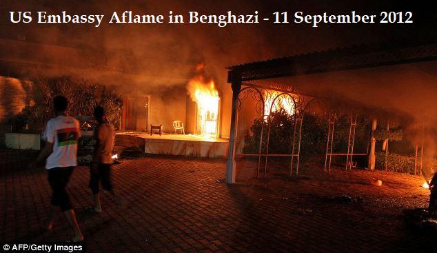benghazi us embassy aflame
