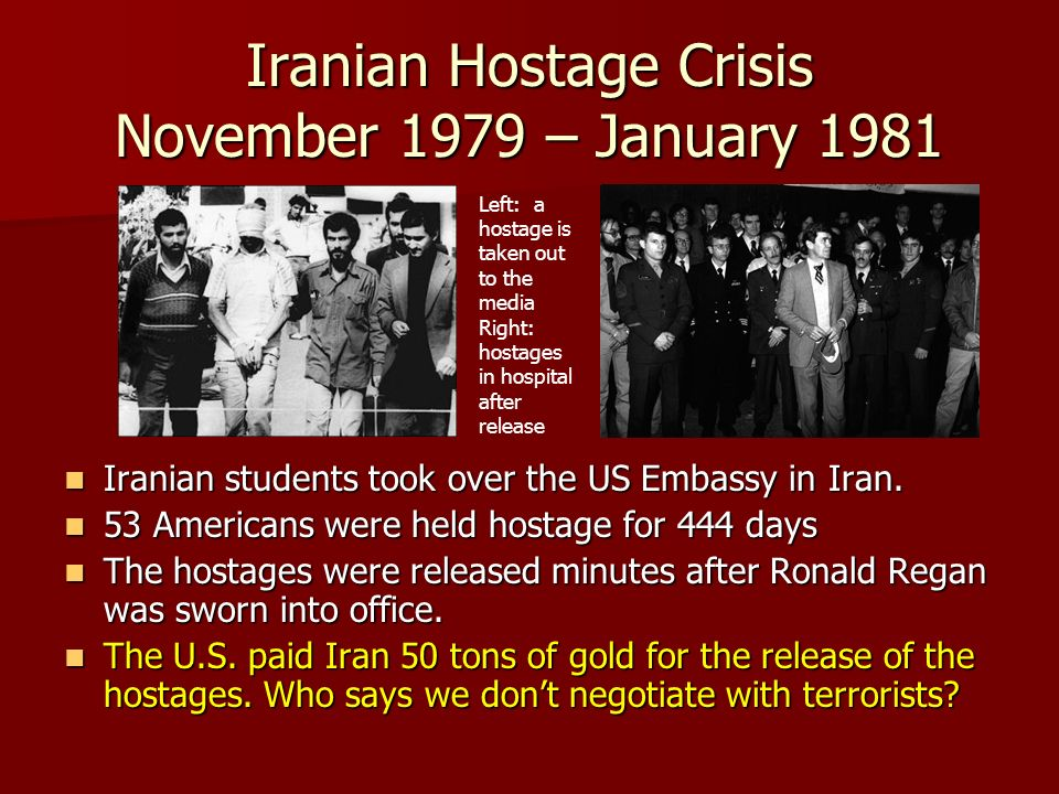iranian hostage crisis novermber 1979 - january 1981